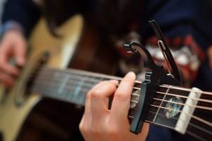 Guitar capo Poway guitar lessons 619-306-3664