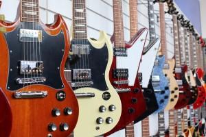 electric guitar store