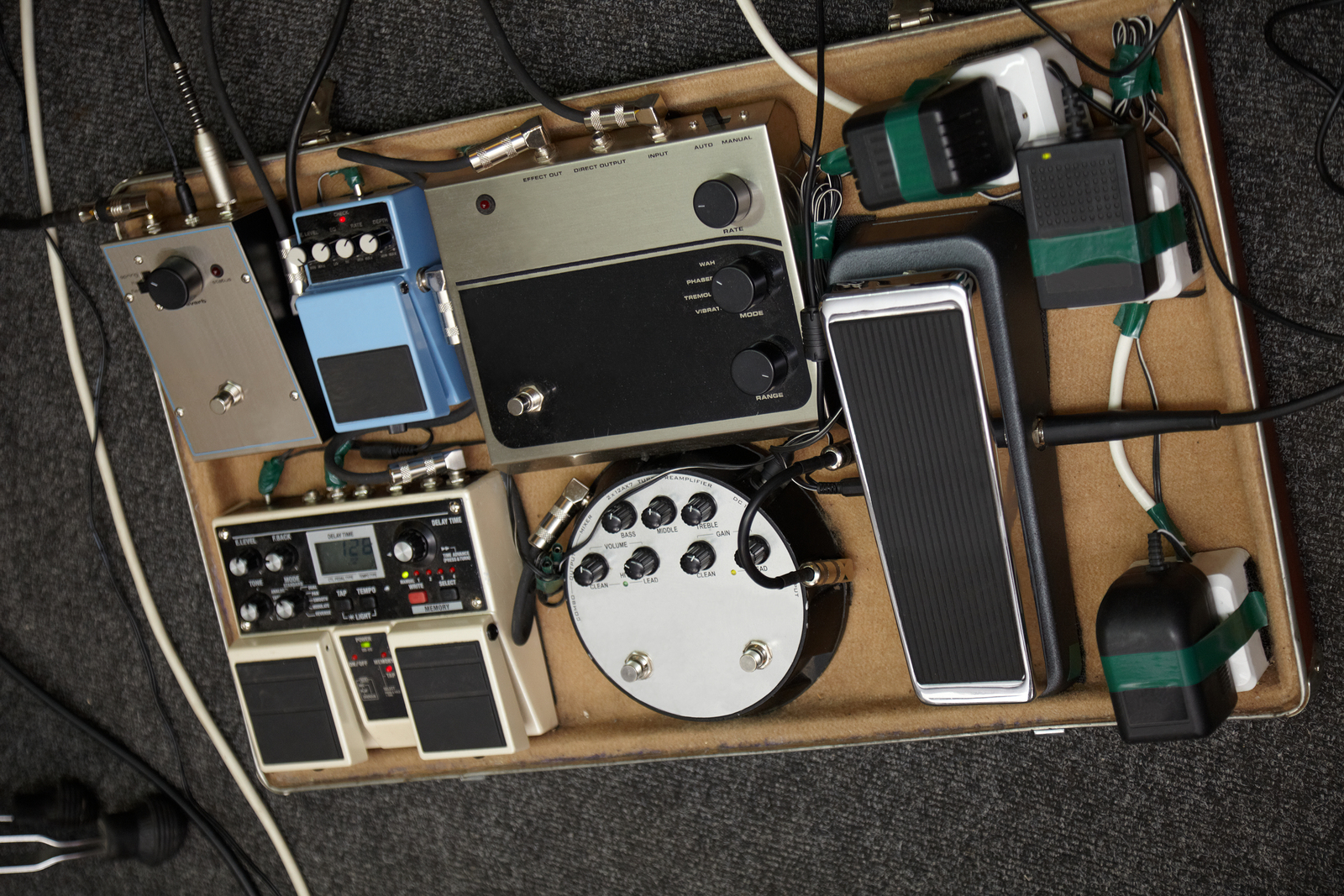 setting up your guitar effect pedals